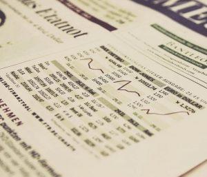 krant aandelen