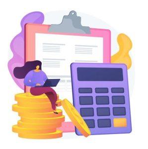bijhouden inkomsten en uitgaven